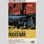 Various Artists - No Room for Rockstars (DVD) - CD-Cover