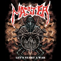 Master - Let's Start A War (Re-Release) - Cover