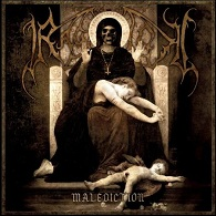 Ragnarok - Malediction - Cover