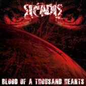 Sicadis - Blood Of A Thousand Hearts - CD-Cover