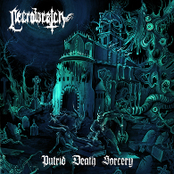 Necrowretch - Putrid Death Sorcery - Cover