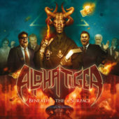 Alpha Tiger - Beneath The Surface - CD-Cover