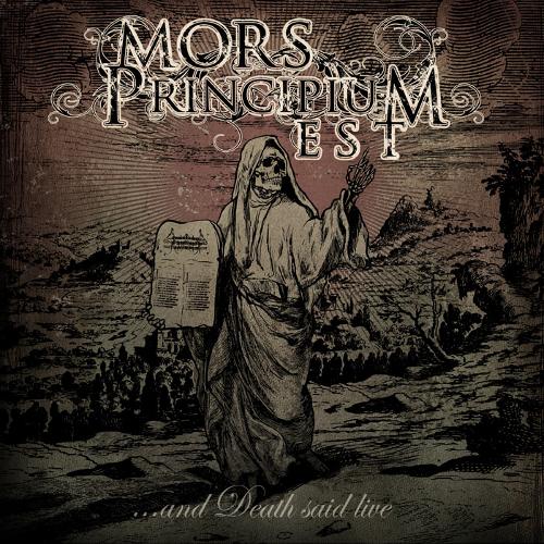 Mors Principium Est - ...And Death Said Live - Cover