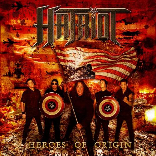 Hatriot - Heroes Of Origin - Cover