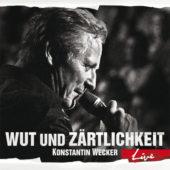 Konstantin Wecker - Wut und Zärtlichkeit – Live - CD-Cover