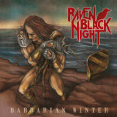 Raven Black Night - Barbarian Winter - CD-Cover
