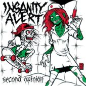 Insanity Alert  - Second Opinion (EP) - CD-Cover