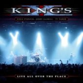 King´s X - Live All Over The Place - CD-Cover