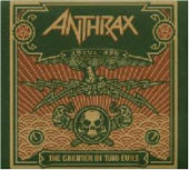 Anthrax - The Greater Of Two Evils - CD-Cover