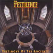 Pestilence - Testimony Of The Ancients - CD-Cover