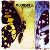 Moonspell - The Butterfly Effect - CD-Cover
