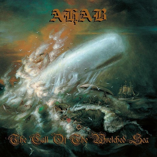 Ahab - The Call Of The Wretched Sea - Cover