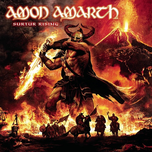 Amon Amarth - Surtur Rising (-) - Cover