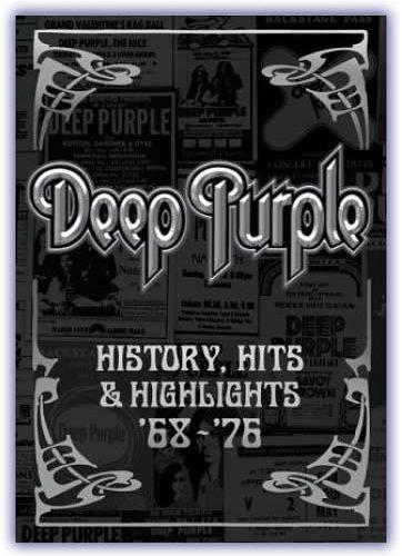 Deep Purple - History, Hits & Highlights `68-`76 (DVD) - Cover