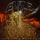 Evile - Infected Nations - CD-Cover