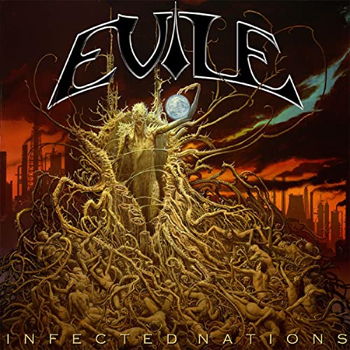Evile - Infected Nations - Cover