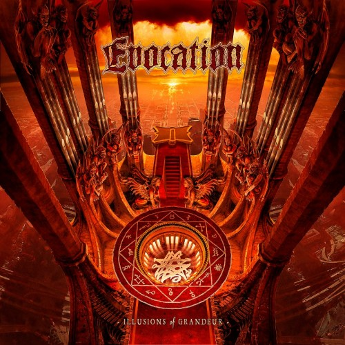 Evocation - Illusions Of Grandeur - Cover