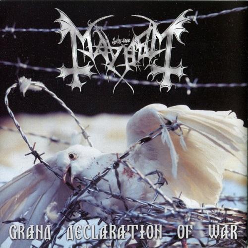 Mayhem - Grand Declaration Of War - Cover