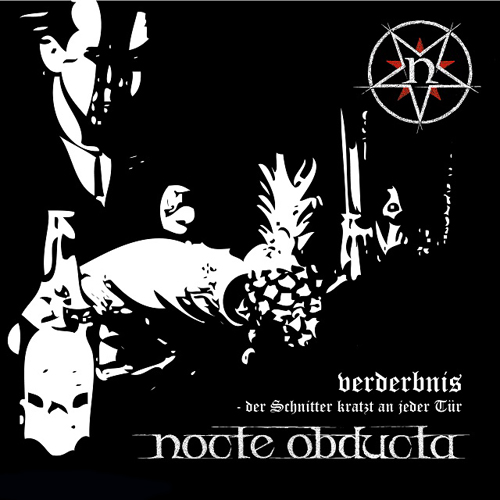 Cover - Nocte Obducta – Verderbnis – Der Schnitter kratzt an jeder Tür
