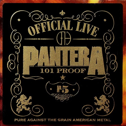 Pantera - Official Live: 101 Proof - Cover