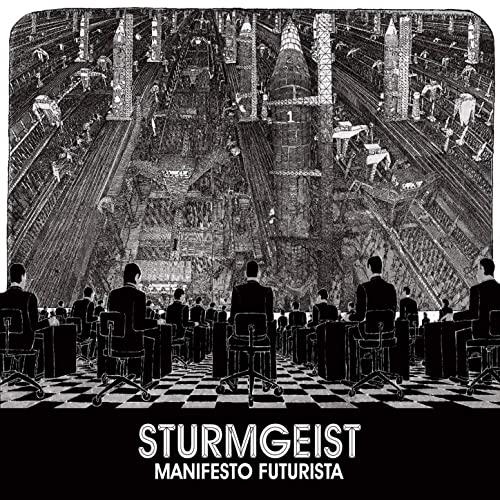 Sturmgeist - Manifesto Futurista - Cover