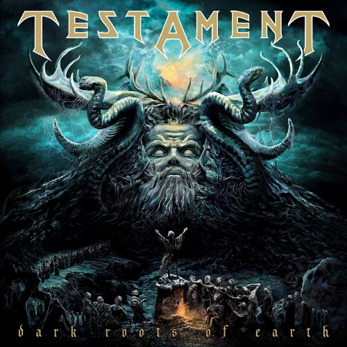 Testament - Dark Roots Of Earth  - Cover