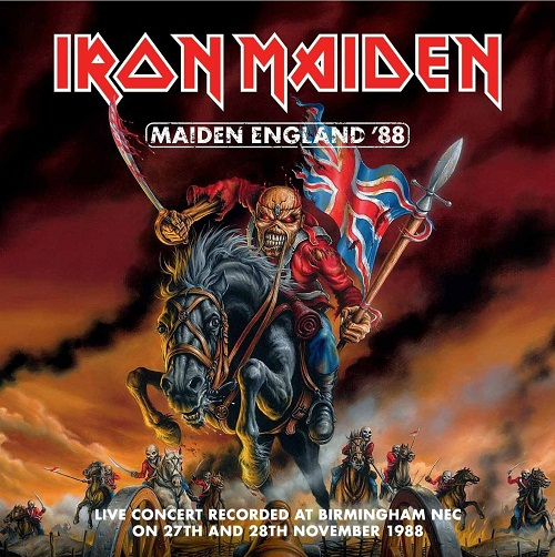 Iron Maiden - Maiden England ´88 (DVD) - Cover
