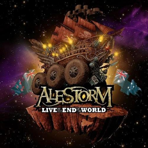 Cover - Alestorm – Live At The End Of The World (CD+DVD)