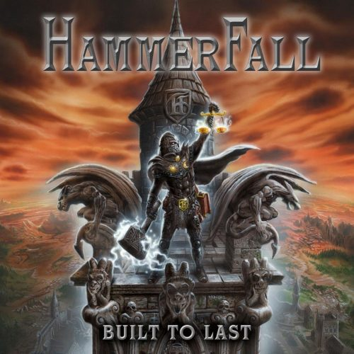 Hammerfall - Built To Last - Cover