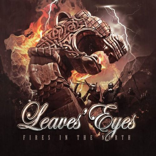 Leaves' Eyes - Fires In The North (EP) - Cover