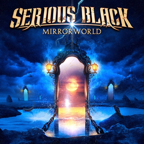 Serious Black - Mirrorworld - Cover