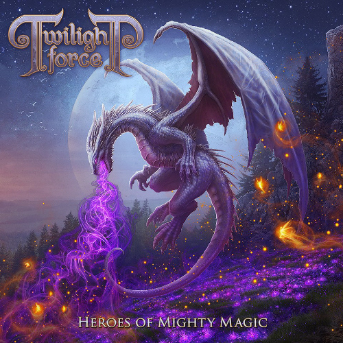 Twilight Force - Heroes Of Mighty Magic - Cover
