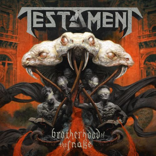 Testament - Brotherhood Of The Snake - Cover