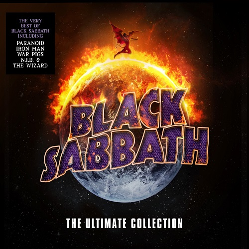 Black Sabbath - The Ultimate Collection - Cover