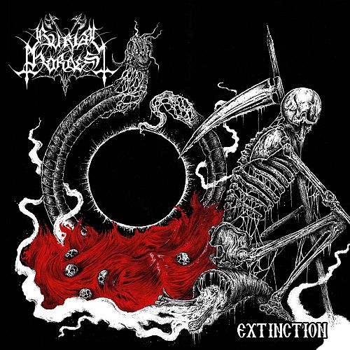 Burial Hordes - Extinction (EP) - Cover