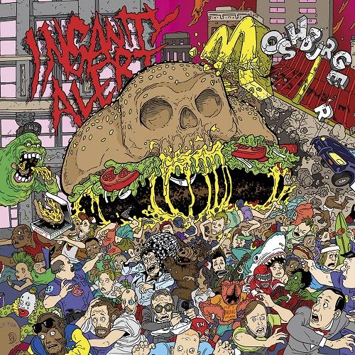 Insanity Alert - Moshburger - Cover