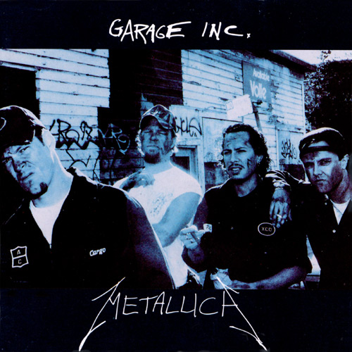 Metallica - Garage Inc. - Cover