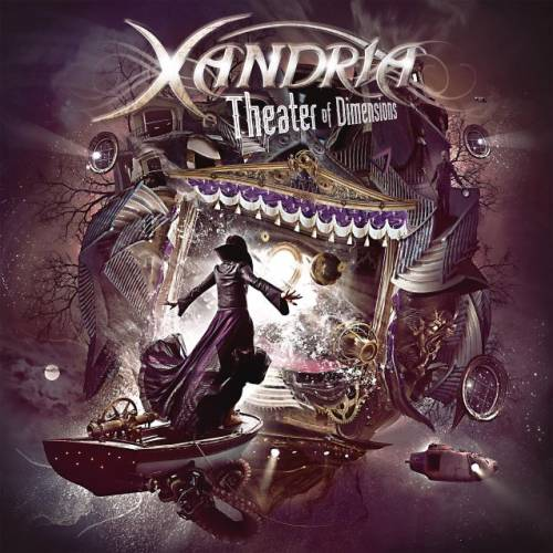 Xandria - Theater Of Dimensions - Cover