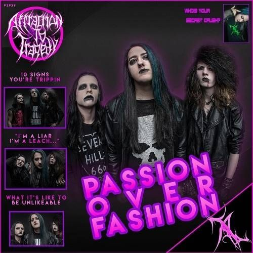 Attraction To Tragedy - Passion Over Fashion - Cover