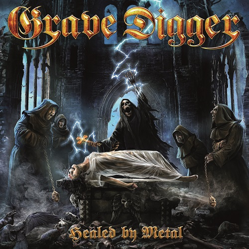 Grave Digger - Healed By Metal - Cover