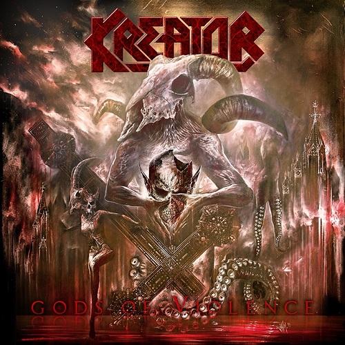 Kreator - Gods Of Violence - Cover