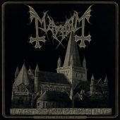 Mayhem - De Mysteriis Dom Sathanas Alive - CD-Cover