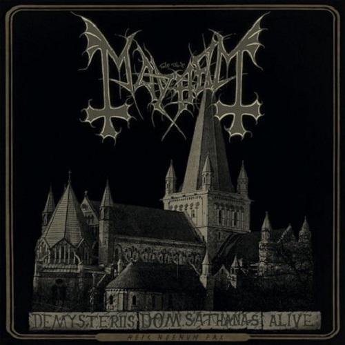 Mayhem - De Mysteriis Dom Sathanas Alive - Cover
