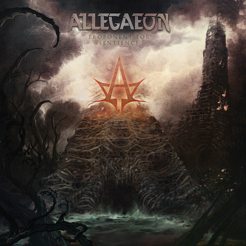 Allegaeon - Proponent For Sentience - Cover