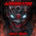 Cover - Annihilator – Triple Threat