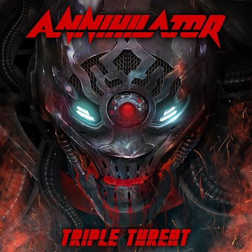 Annihilator - Triple Threat - Cover