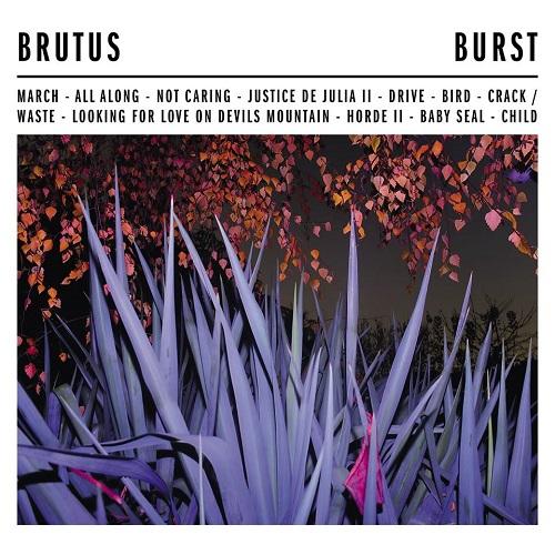 Brutus - Burst - Cover
