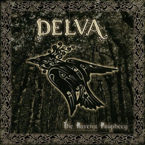DELVA - The Raven's Prophecy - Cover