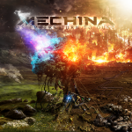 Cover - Mechina – As Embers Turn To Dust