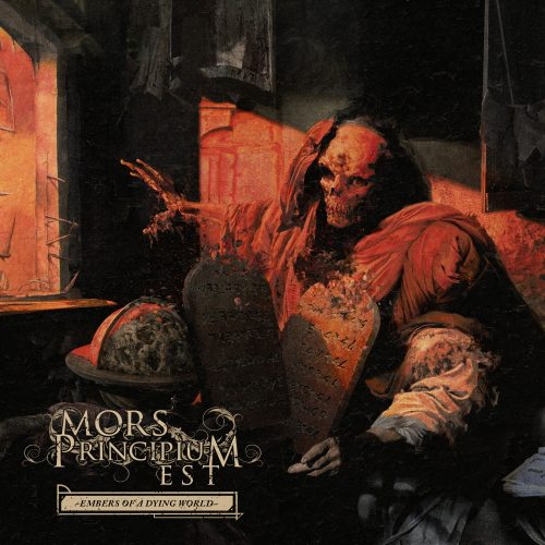 Mors Principium Est - Embers Of A Dying World - Cover